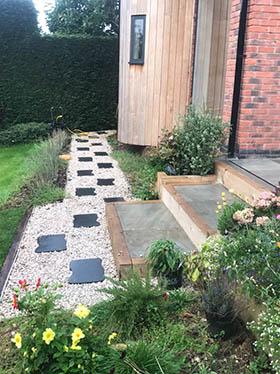 new patio steps Loughborough