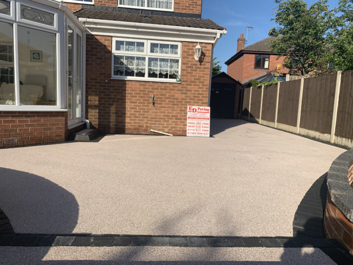 Ed Paving Resin Driveway In Toton Nottingham Pathway