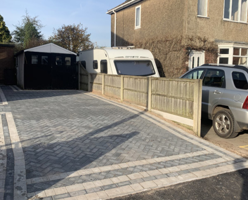 driveway completed in Sawley Derbyshire