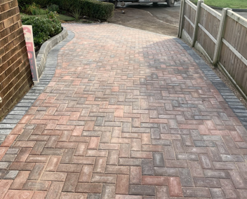 Block paving driveway in Daybrook Nottingham