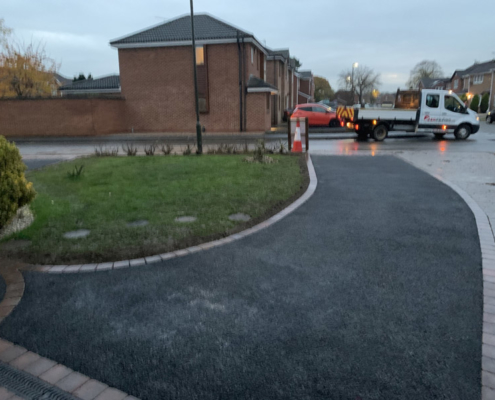 Long Eaton Driveway Installed