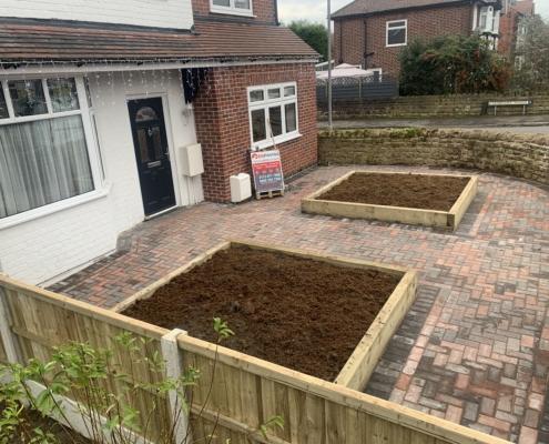 completed block paving driveway Beeston Nottingham