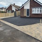 finished tarmac driveway Sawley