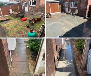 patio installed in Chilwell Nottingham