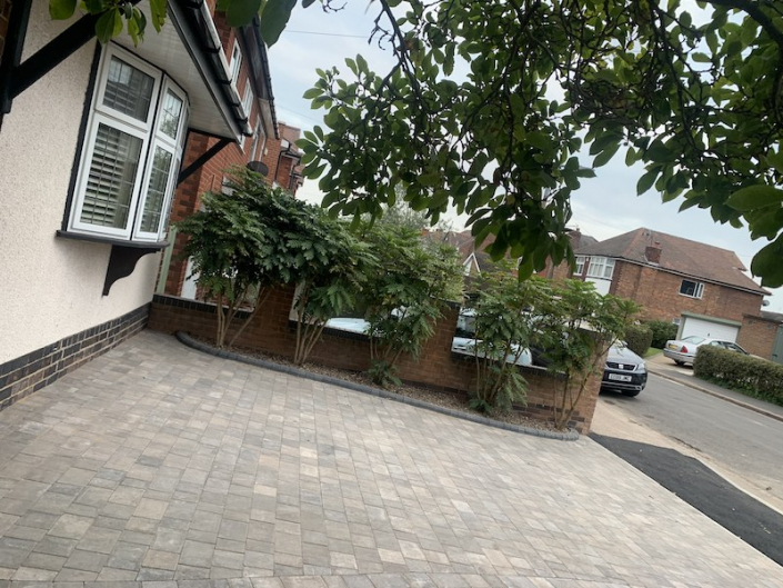 block paving patio Nottingham